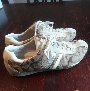 Women's coach shoes size 9